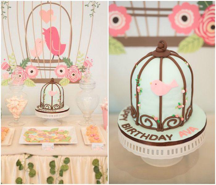 Little Bird Birthday Party via Kara's Party Ideas   KarasPartyIdeas.com (4)