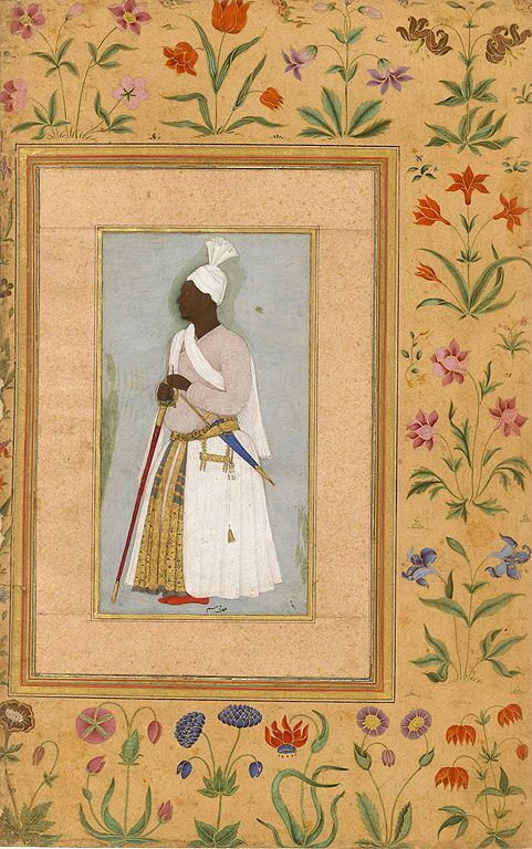 Abyssinian from Shah Jahan Album