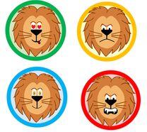 Le roi du bon comportement, lion, macaron, gestion cmportment, Cp, Ce1