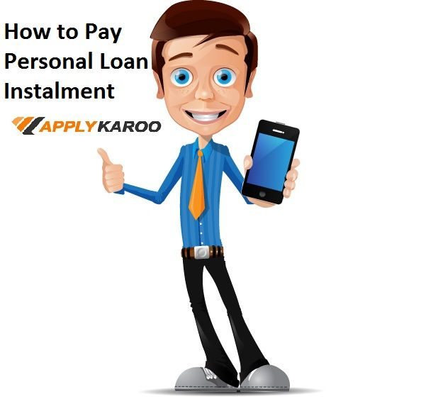 How To Pay Personal Loan Instalment Repayment Option Of Personal Loan Applykaroo A Post Declared Cheque Pdc B Fa Vector Character Character Business Man