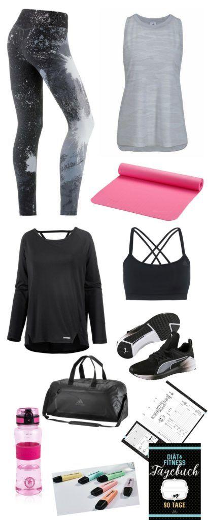 Fitness-Outfit – Legendary – Ihr Outfit für Workout-Kurse, Fitness-Training, Dance-Aerobic, Tanz-Fitness-Kurse u.v.m. Farblich aufeinender abgestimmte Teile wie die gemusterte Leggings von Nike und das locker sitzende Top mit ausgefallenem Ausschnitt. Die Trinkflasche mit optimalen Eigenschaften für Ihr Workout sorgt für einen Farbkleks. In dem Ernährungs- und Trainingstagebuch können Sie Ihre Fortschritte und Erfolge dokumentieren – zur eigenen Kontrolle und als zusätzlichen…
