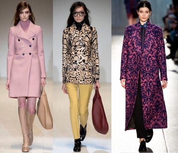 Модные пальто 2016 года