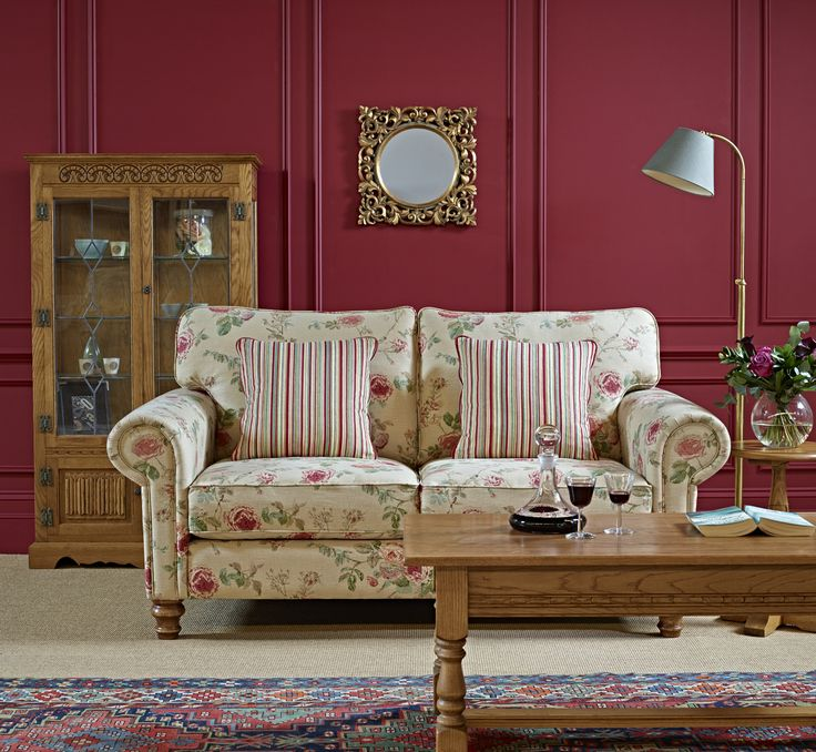 Lavenham Medium Sofa with turned foot  From Wood Bros  Furniture  Ltd. 11 best Lavenham Upholstery images on Pinterest   Upholstery