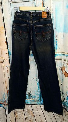 Women's Jag Jeans Boot Cut Leg Stretch Denim Blue Jeans Sandblasted - Size 6