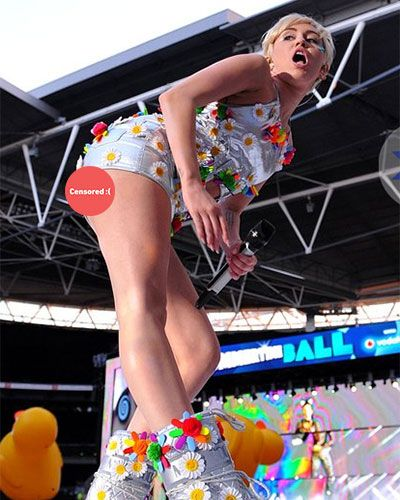All Of Miley Cyrus Most Embarrassing Wardrobe