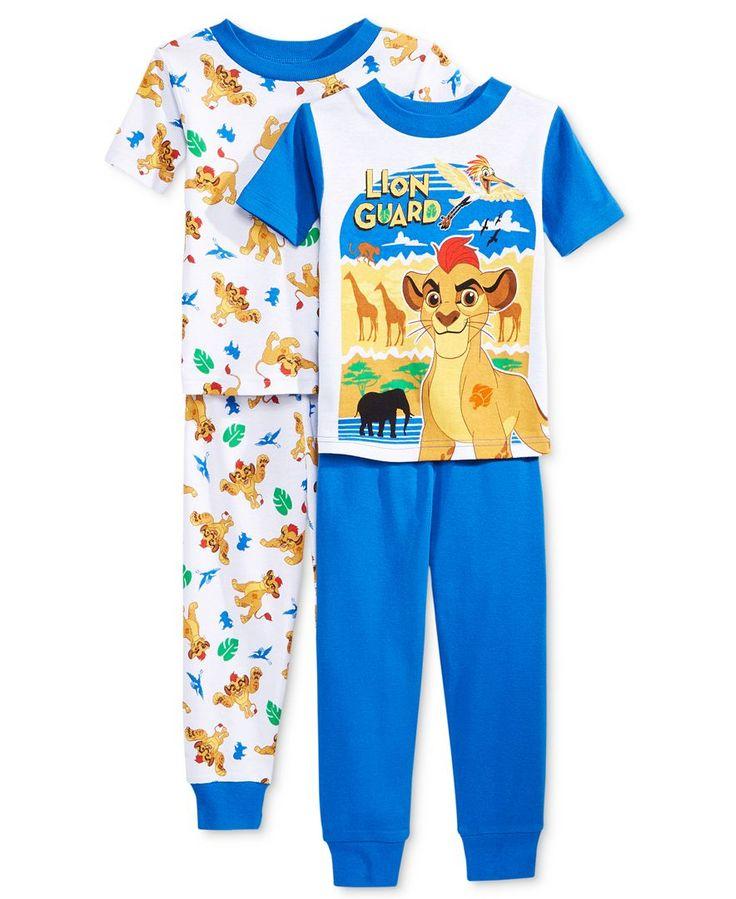 Disney 4-Pc. Lion King Cotton Pajama Set, Toddler Boys (2T-5T)