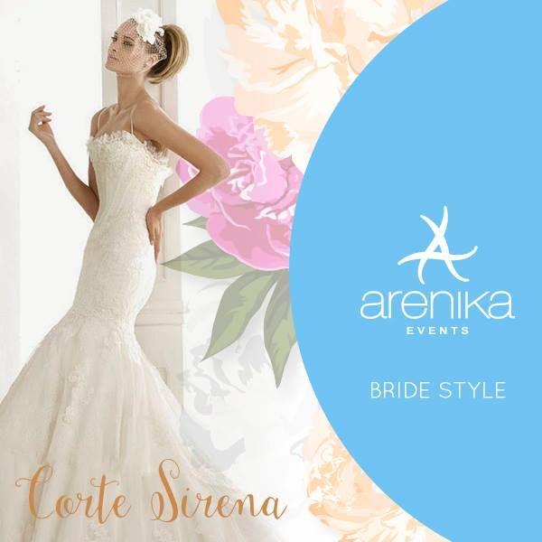 Los vestidos de novia de corte sirena, son una gran opción para acentuar una figura curvilínea. #dress #novia #vestido #bodas #2015 #sirena http://arenika.com.mx/