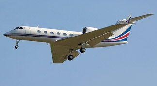 Gulfstream GIV SP jet  http://aeromarinetaxpros.typepad.com/my_weblog/2013/09/overseas-it-company-obtains-sales-tax-exemption-on-plane.html