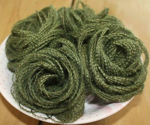 Moss green hesian flowers https://m.facebook.com/ForeverStitched1/