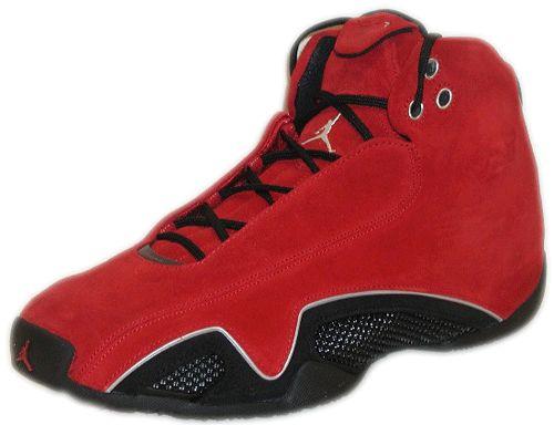 Jordan 21 Red Suede/ Toro