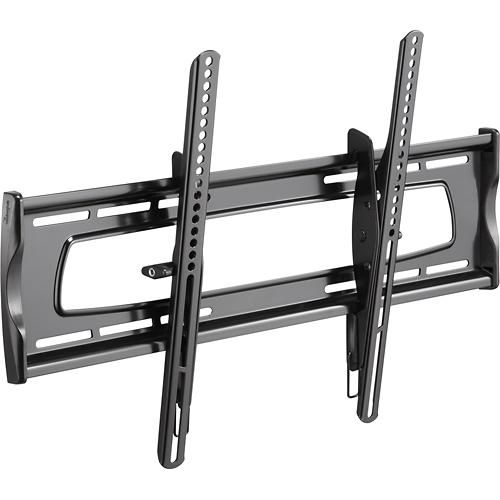 "Rocketfish™ - Tilting TV Wall Mount for Most 32"" to 70"" Flat-Panel TVs - Black - Angle"