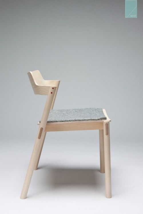 Stackable Chair is a minimal design created by American-based designer Jonah Willcox-Healey.