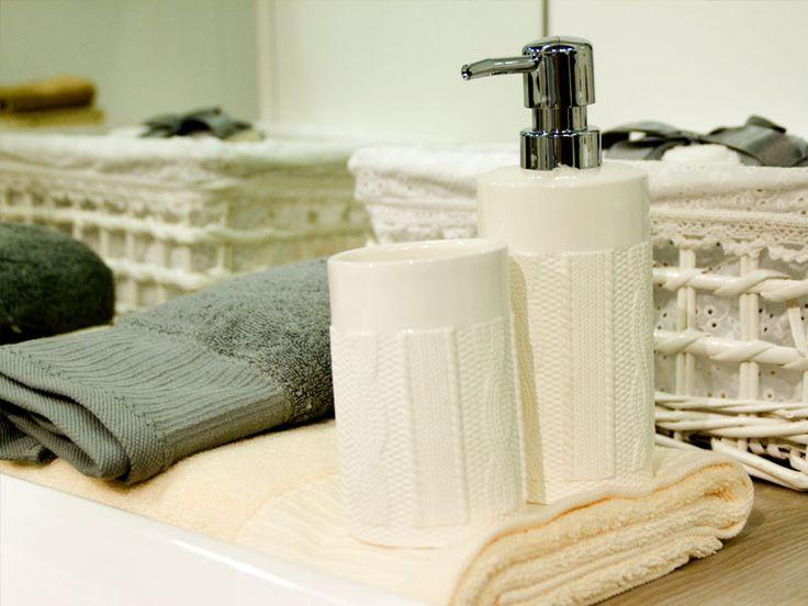 oggettistica da bagno + tessile