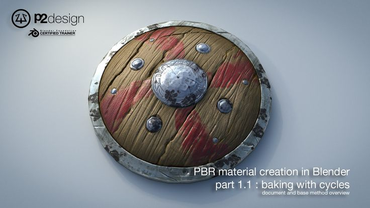 PBR MATERIAL CREATION IN BLENDER PART01 01 DOCUMENT AND BASE METHOD OV...