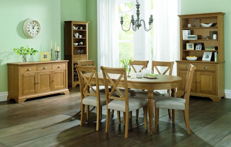 Hampstead Oak 6-8 Seater Ext. Table & 8 'X' back Dining Chairs effective dining set and catches your guest mind just on arrival. Price of this set £ 1526.95. Visit http://solidwoodfurniture.co/product-details-oak-furnitures-3902--hampstead-oak-seater-ext-table-x-back-dining-chairs.html