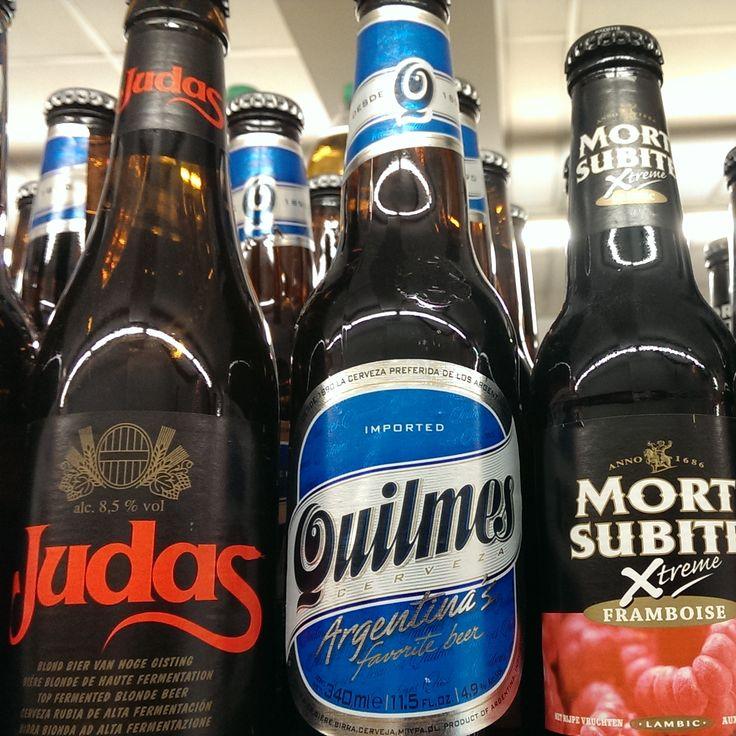 #Judas, #Quilmes y #MortSubite, vaya trío!