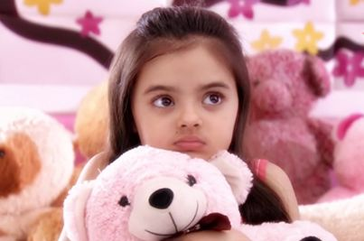 ruhanika dhawan: cute little child actress of indian television serial Ye hai Mohabbeteian
