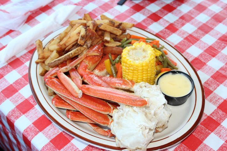 This is a crab dinner from the Chowder House in Neil's Harbour on Cape Breton Island. I send everyone to the Chowder House. It is located on the cliffs overlooking the Atlantic Ocean. Just follow the road to the lighthouse and you'll find it!