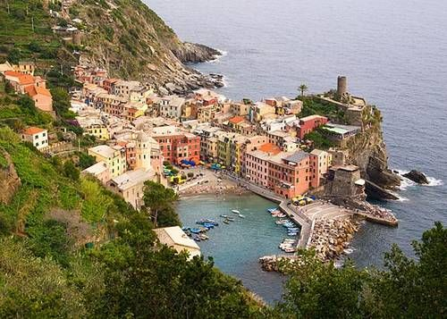 Cinque Terre Village of Vernazza, Italy    wow.  wow.  wow.
