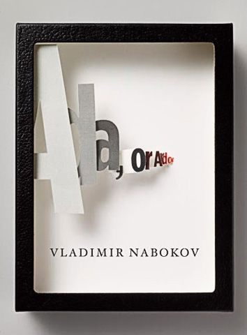 Book cover by Chip Kidd.Book Covers Design, Art Director, Vintage Book, There, Chips Kidd, Ardor, Book Series, Book Jackets, Vladimir Nabokov