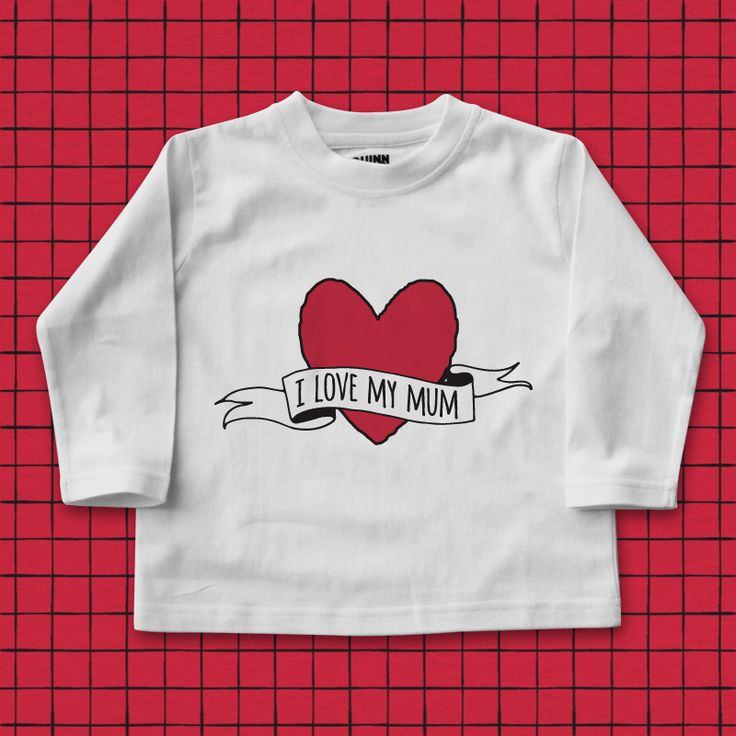 I Love My Mum |Mother's Day t-shirts, mothers day t shirts, mothers day gifts, gifts for mum