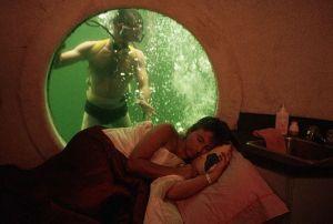 Hôtel sous l'eau