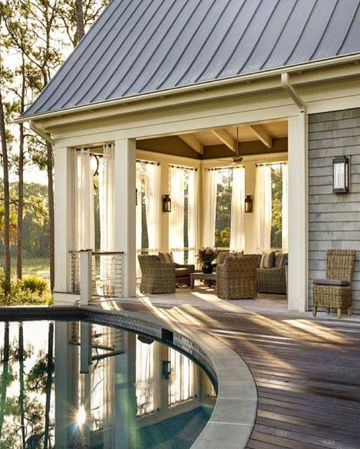 Outdoor Living : Patio : Covered Porch :: John Baranello Design