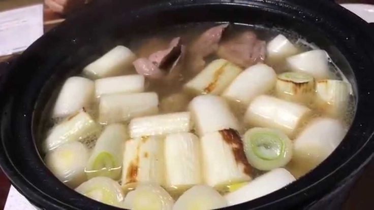 こしがや鴨ネギ鍋 -Duck and Spring onion Nabe of Koshigaya