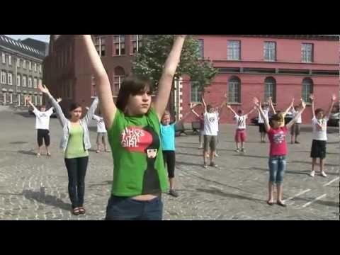 Aanleren waterdans Casa del Mundo - YouTube