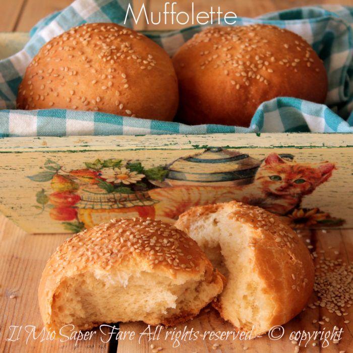 Muffolette panini soffici con semi di sesamo ricetta siciliana