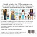 18 INCH DOLL OUTFIT BASICS PATTERN COLLECTION CD-New Craft Patterns-New Patterns-New Items