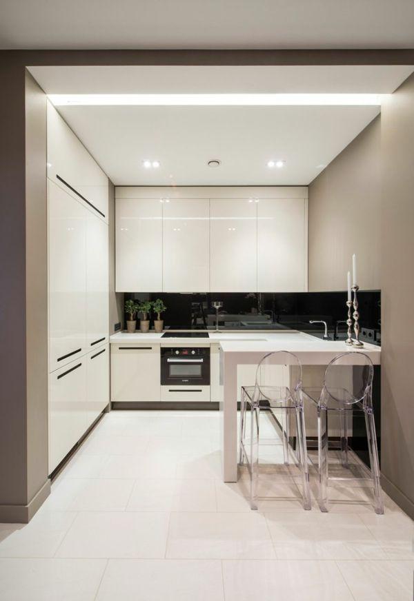 Die besten 25+ Minimalistische küchenschränke Ideen auf Pinterest - klebefolie für küchenschränke
