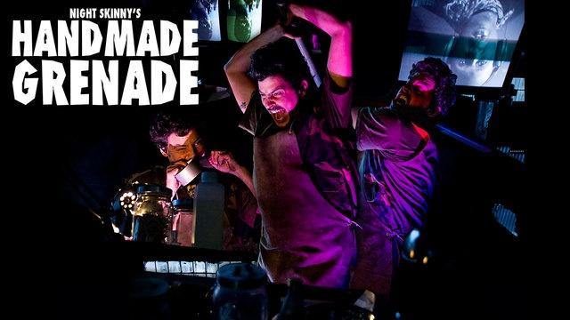 "SAIZEN MEDIA PRESENTS  The NightSkinny's HANDMADE GRENADE (ft. Antipop Consortium / Airbor Audio & Dj Tayone)  Official Video Extracted from the brand new The Skinny's HANDMADE GRENADE - Metropolis Stepson NYC Edition 7"" Vinyl + DVD Bundle. Blasting Screens and Speakers Worldiwde December 2010."