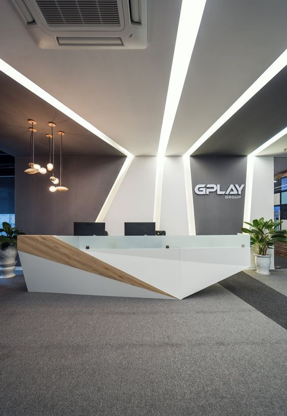 #Designs That Make Logos Pop- The right design makes any company logo pop properly off of #walls and anything else. Properly handling where the logo fits into any office design helps with branding and gives a professional look to any location.
