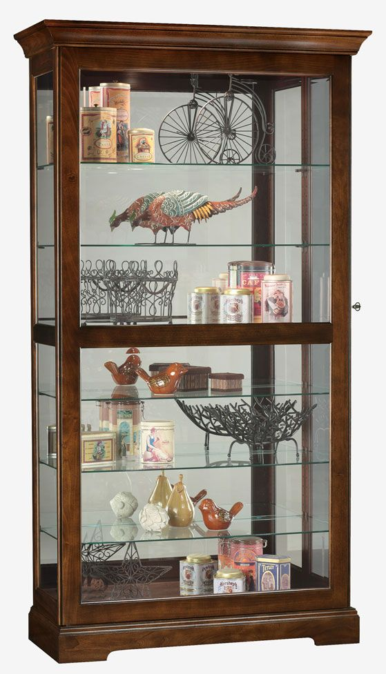 Awesome Double Glass Door Curio Cabinet