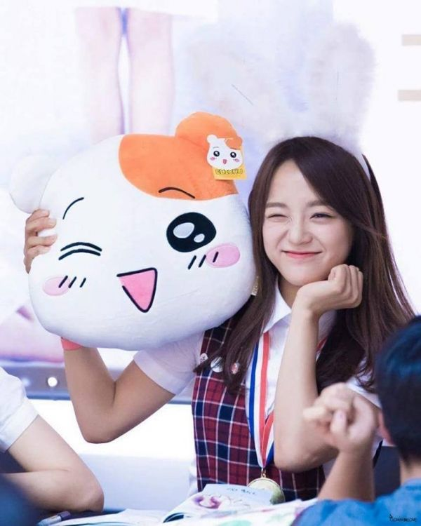 Sejeong và thú bông