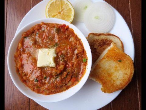 Pav Bhaji recipe-Mumbai style Pav Bhaji-Indian fast food Poonam's Kitchen - YouTube