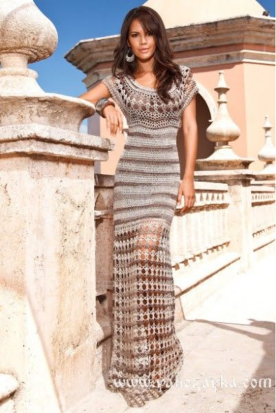 Платье клеопатра крючком подробная инструкции. Схема платье клеопатра | Я Хозяйка