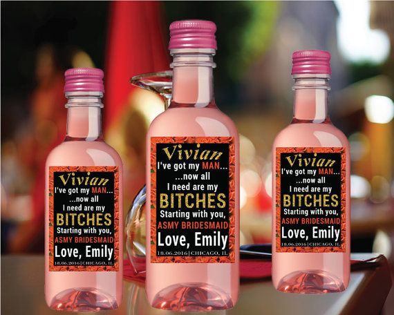Mini Wine Label Proposal Will You Be My by LabelByLoveArts on Etsy