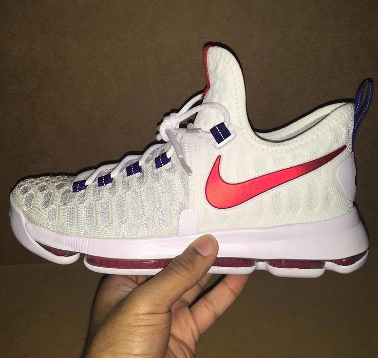 size 40 5a197 44bce Chaussures Nike BasketBall Pas Cher Pour Homme Nike KD VII/7  Blanc/Obsidian-; First Look: Nike Air Zoom KD9