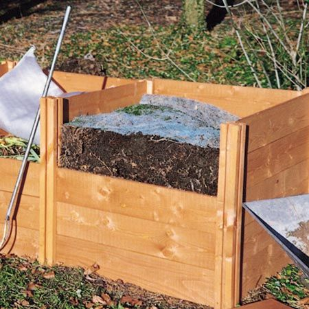 We already have and would like to keep (though can move) 2 modular compost bins.