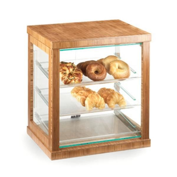 "Cal-Mil 284-60 Frame Display Case, 21""W x 16-1/4""D x 22-1/2""H, with (3) 13"""