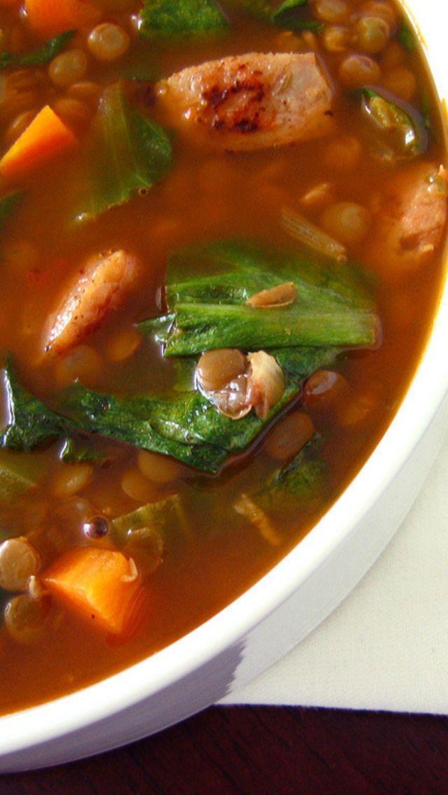 + images about Soups on Pinterest   French onion soups, Lentil soup ...