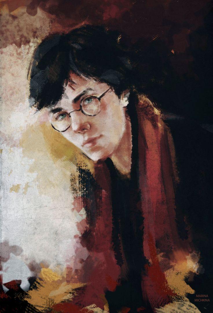 Harry Potter by MarinaMichkina.deviantart.com on @DeviantArt