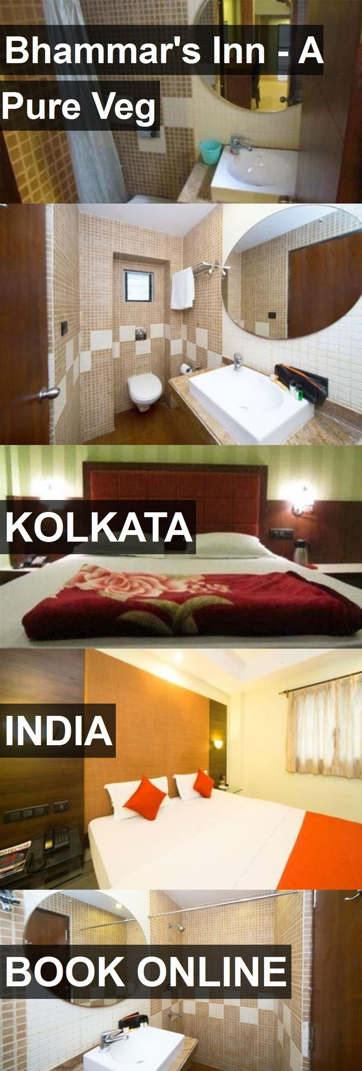 Hotel Bhammar's Inn - A Pure Veg in Kolkata, India. For more information, photos, reviews and best prices please follow the link. #India #Kolkata #travel #vacation #hotel