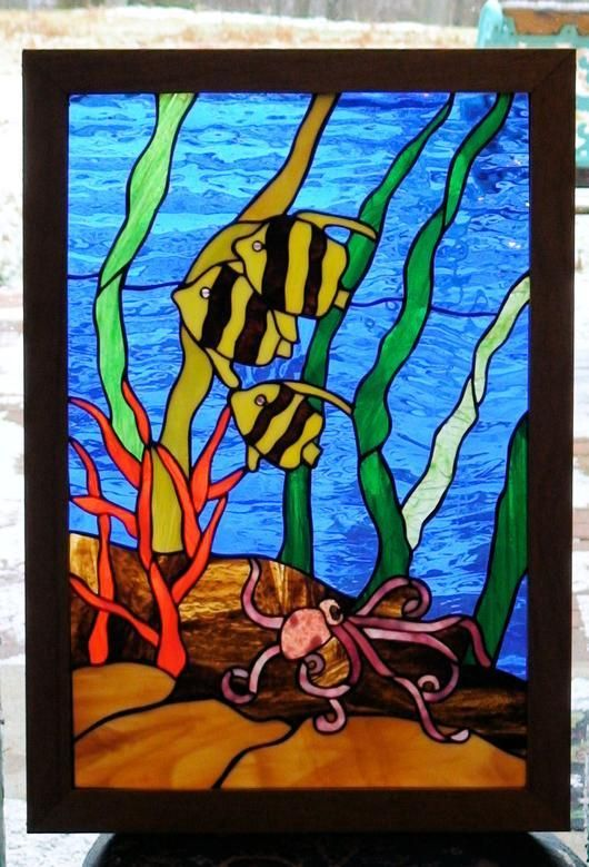 That fish from delphi artist gallery by walt 39 s work for Stained glass fish patterns