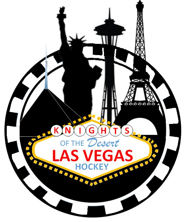 nhl vegas golden knights secondary logo las vegas team