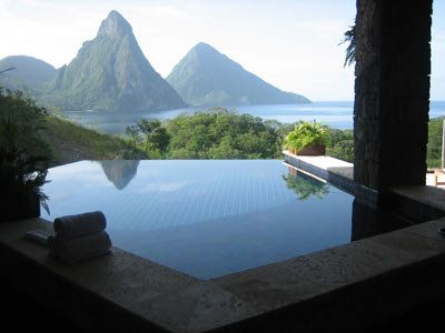 I've been to St. Lucia but not to Jade Mountain, St. Lucia... have to go!