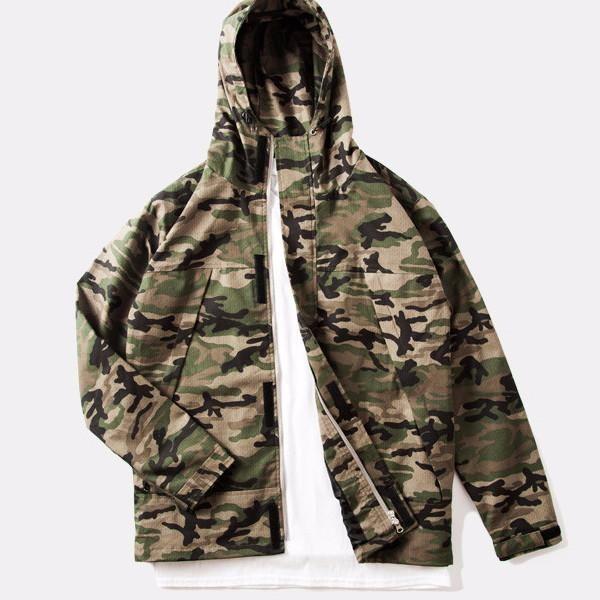 Sovereign® Camo Trench Coat