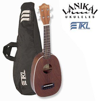 Lanikai LU-21P BAG LU-21P Pineapple Ukulele with TKL Gig Bag by Lanikai. $62.32. The LU series is Lanikais most popular line of ukuleles. They are a perfect first stop for acoustic multi-instrumentalist looking to try something new or the first time player just beginning their lifelong love of music. . The Pineapple Soprano is the most unique of the series, with a distinct shape and a bright sound that belies its compact size. The LU-21P is handcrafted from Nato wood (Eastern M...
